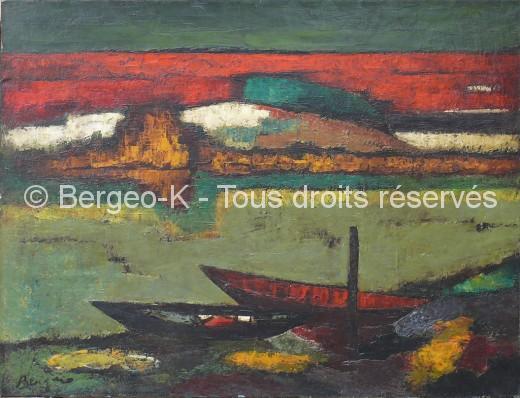 Barques en Camargue - 1960 - 50F