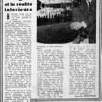 Bergeo et la réalité intérieure - Le Provençal - 20 Octobre 1960