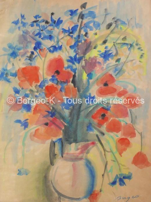 Bouquet aux coquelicots - 1992