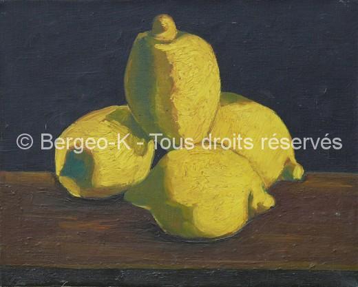 Citrons (Marseille - 1955) - 6F