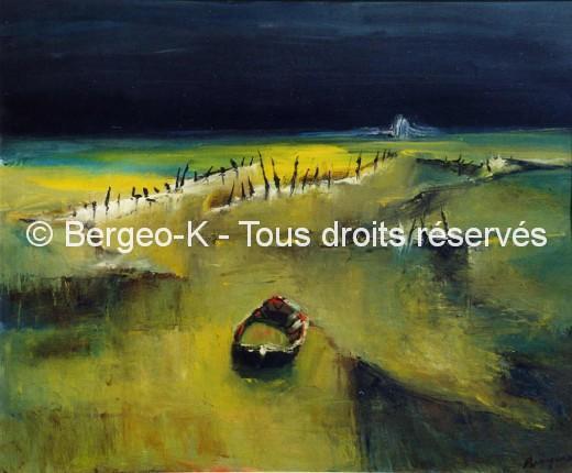 Barque en Camargue - 1986 - 40F