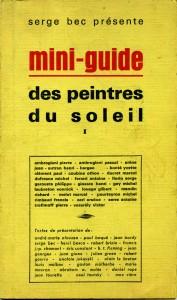 Mini-guide des peintre du soleil -1968 - 1/4