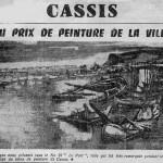 Salon de peinture de Cassis - Méridional - 26-Juin 1960