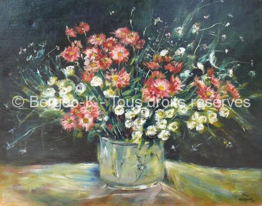 Bouquet de fleurs - 1986 - 40F