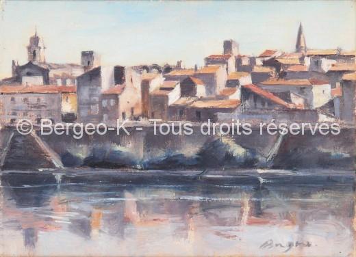 Vue d'Arles 1 - 1981 - 1F