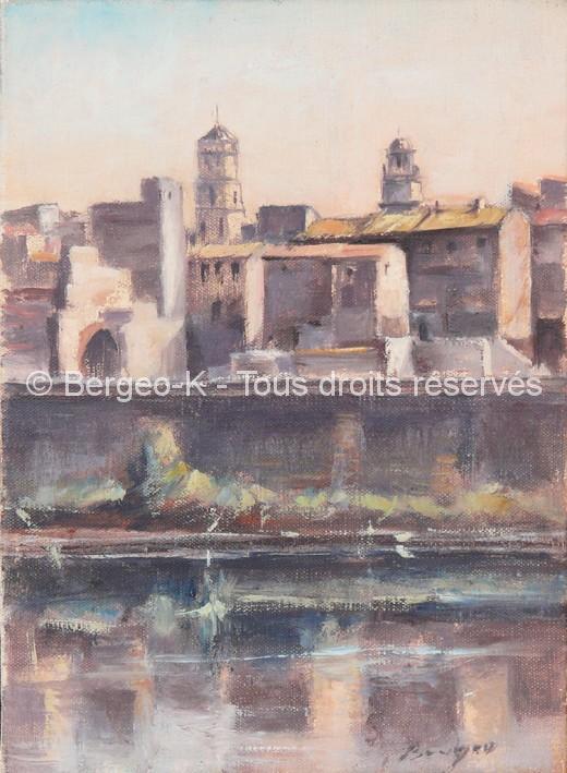 Vue d'Arles 2 - 1981 - 1F