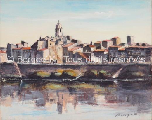 Vue d'Arles 3 - 1981 - 2F