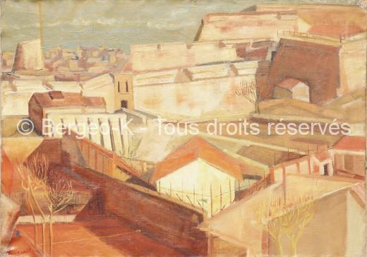 Fort Saint-Nicolas - Marseille -30P - 1955