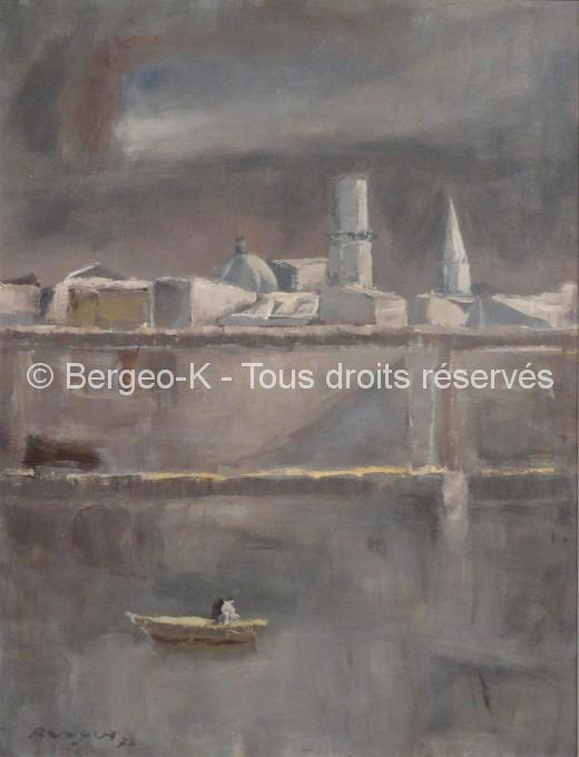 Le Fort St-Jean - 1976 - 48 x 66 cm (Collection privée Forsans-Gelot  - Biarritz)